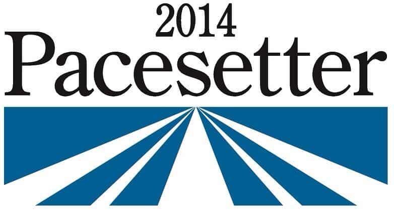 2014 Pacesetter Award